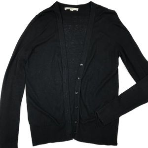 Loft Black Cardigan Lightweight Medium